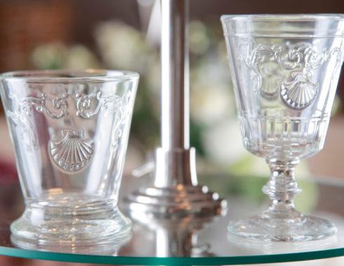 Schöne Pressgas Gläser auf Frankreich bei HOME & GARDEN Hannover kaufen