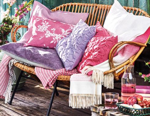 Große Auswahl an Decken von Proflax bei HOME & GARDEN Hannover